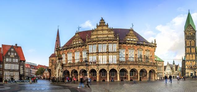 Bremen - Rathaus (Quelle: Adobe Stock)