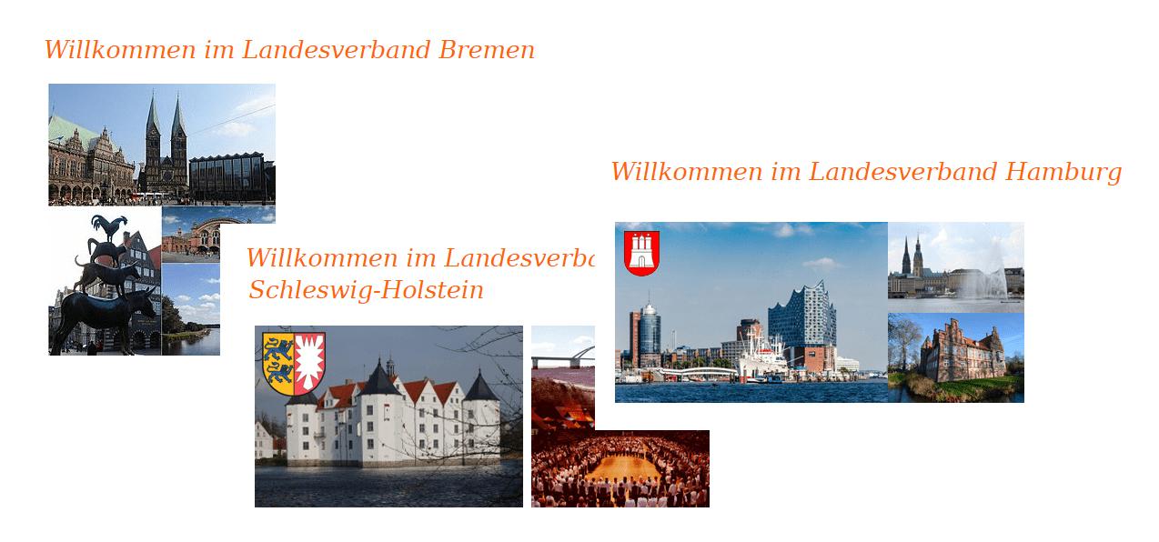 Bremen - Schleswig-Holstein - Hamburg