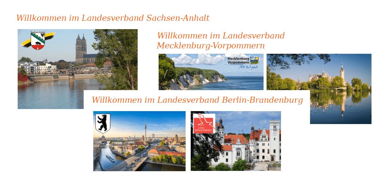 Sachsen-Anhalt - Mecklenburg-Vorpommern - Berlin-Brandenburg