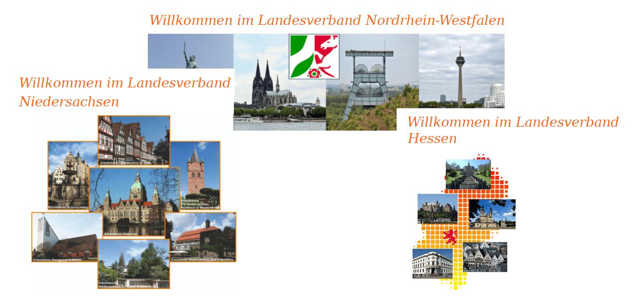 Nordrhein-Westfalen - Niedersachsen - Hessen